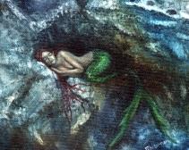 mermaid naptime