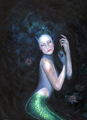 mermaid Lady of the Deep