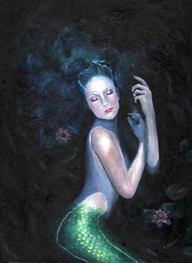 mermaid Lady of the Deep